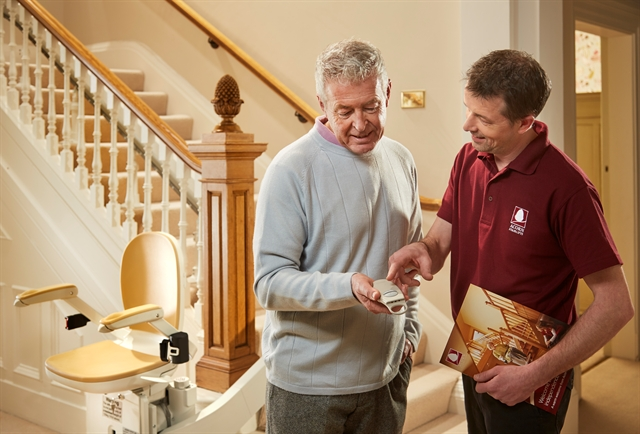 'I just can't face the upheaval of having a stairlift installed'